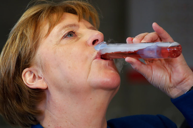 Ангела Меркель, мая 2019 года