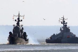 Еще три: Латвию снова напугали российские корабли