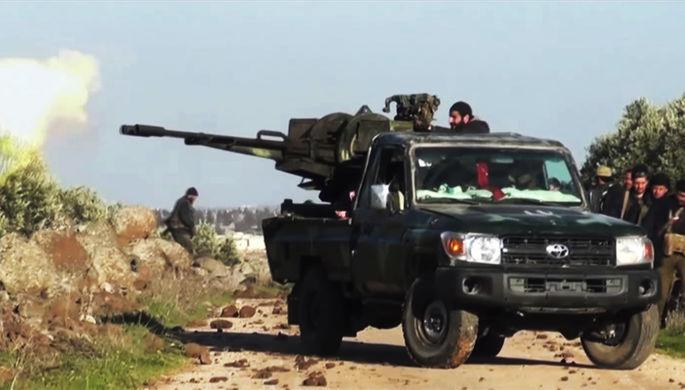 Ситуация в провинции Идлиб в Сирии, 3 марта 2020 года (кадр из видео)