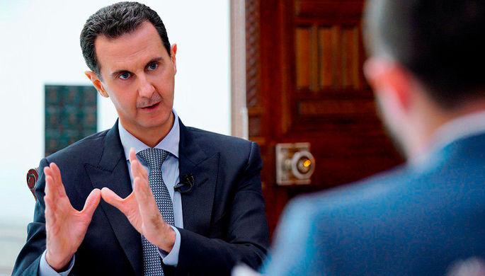 Неэффективная работа: Асад раскритиковал иностранные силы в САР