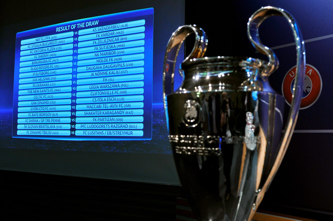 жеребьевка лиги чемпионов: Итоги жеребьевки квалификации Лиги чемпионов