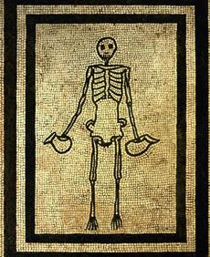 Мозаика из экспозиции выставки «Помпеи и Геркуланум: жизнь после смерти»