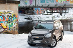 Тест-драйв Chevrolet TrailBlazer
