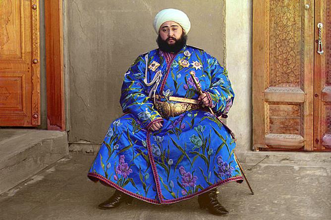 Сейид Алим-хан, 1911, фотография С. М. Прокудина-Горского
