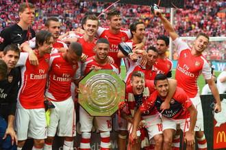 «Арсенал» в 13-й раз завоевал Суперкубок Англии