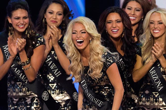 Участницы конкурса «Мисс Америка»