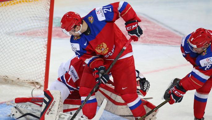 Российская молодежка начала мировой форум с волевой победы над Чехией