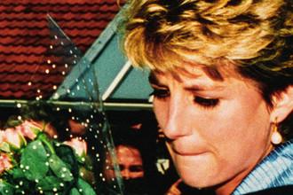 Принцесса Уэльская Диана после помолвки в Мерсисайде, 1992 год