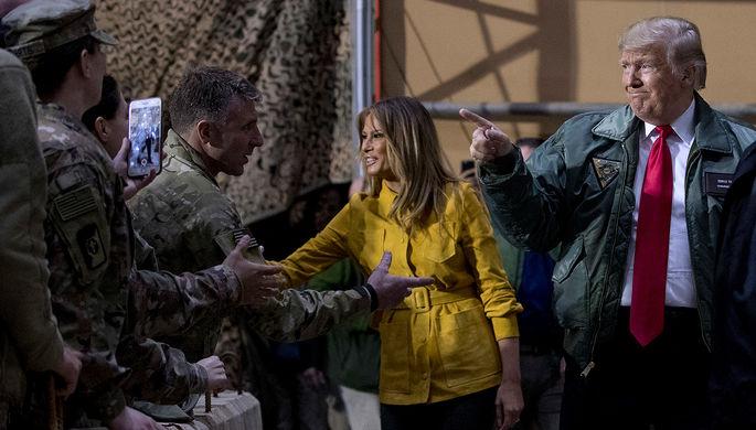 «Удар по Байдену»: Трамп может вывести войска из Афганистана и Ирака