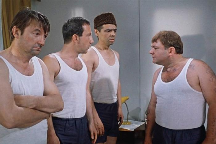 Кадр из фильма «Джентльмены удачи» (1971)