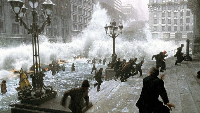 Кадр из фильма «Послезавтра» (2004)