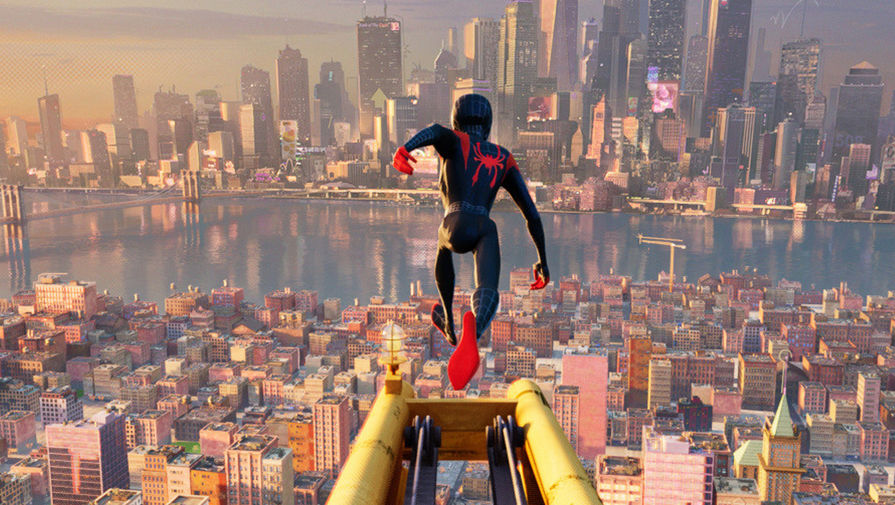 Кадр из фильма «Человек-паук: Через вселенные» (2018)