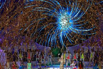 Церемония открытия Всероссийских соревнований среди паралимпийцев в Москве