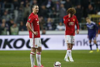 Главная звезда «Манчестер Юнайтед» Златан Ибрагимович