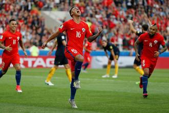 Сборная Чили вышла в полуфинал Кубка конфедераций — 2017