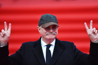 Никита Михалков на церемонии закрытия 40-го Московского международного кинофестиваля