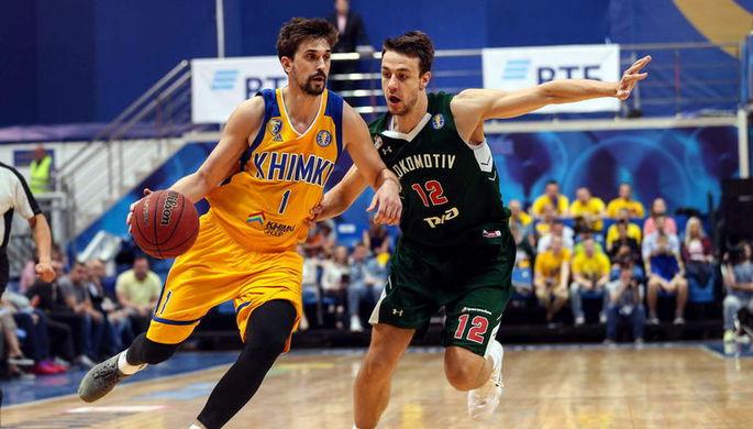 Баскетболист «Химок» Алексей Швед