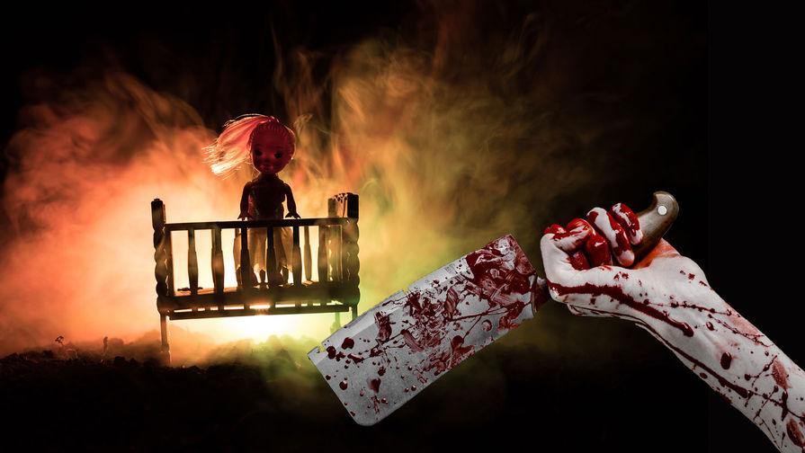 Ночь ужасов: мать приняла дочь за куклу и зарезала ее