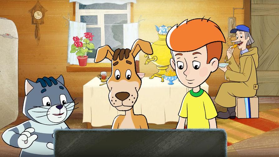 Кадр из мультфильма «Возвращение в Простоквашино» (2018)