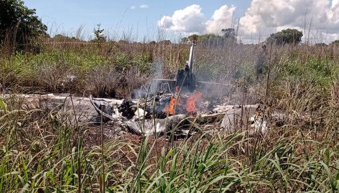 Выживших нет: в Бразилии разбился самолет с футболистами