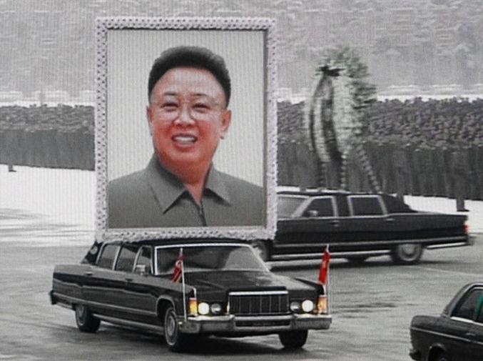 Похороны Кем Чен Ира в Пхеньяне, 2011 год