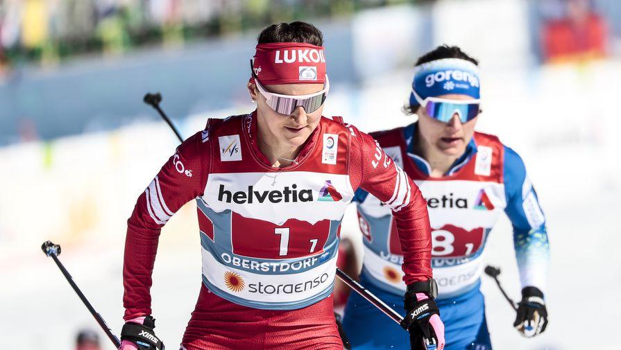 Российская лыжница Юлия Ступак