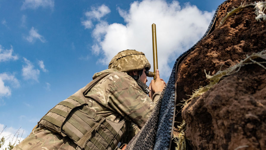 Украинский военный погиб в Донбассе