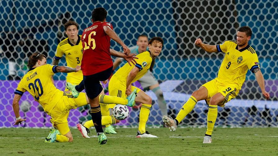 Защитник сборной Швеции Линделёф признан лучшим игроком матча с Испанией