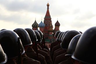 Репетиция военного парада на Красной площади, 5 ноября 2012 года