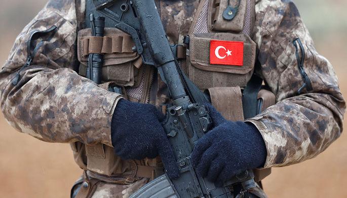 Турецкая артиллерия нанесла сокрушительный удар по колонне террористов