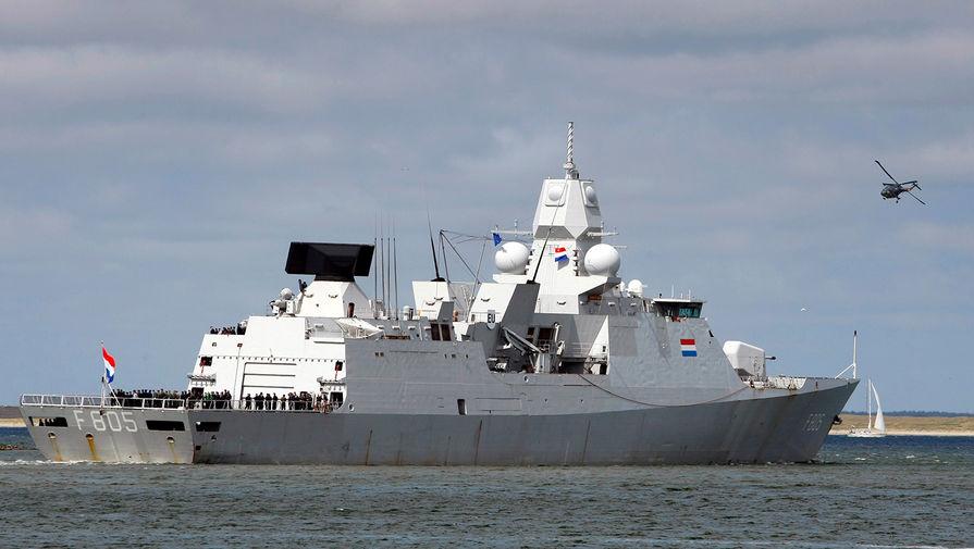 Голландский военный корабль Evertsen