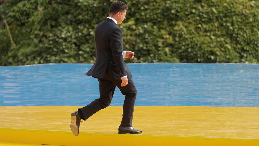 Владимир Зеленский на праздновании Дня независимости Украины, 24 августа 2020 года