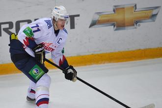 Евгений Малкин в матче в Сокольниках