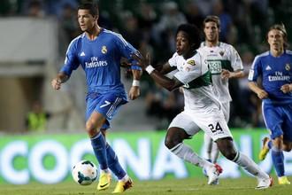 Криштиану Роналду вновь вытащил «Реал»
