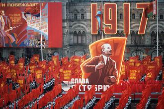 В СССР дни 7 и 8 ноября праздновались как годовщина Октябрьской революции