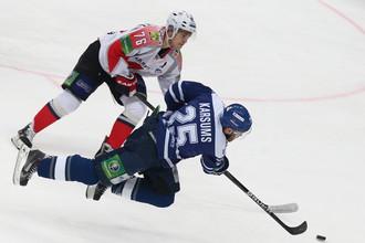 Рижское «Динамо» получило штраф от КХЛ за демонстрацию свастики, московские одноклубники уступили худшей команде лиги