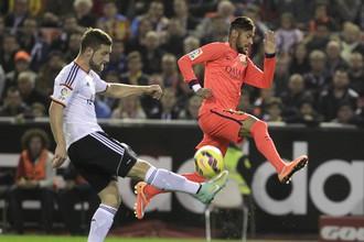 «Барселона» переиграла «Валенсию» благодаря голу в компенсированное время