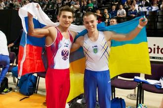 Россиянин Давид Белявский и украинец Олег Верняев — серебряный и золотой призеры в многоборье