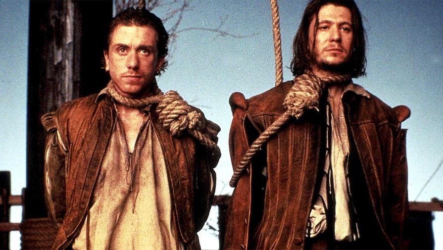 <b>«Розенкранц и Гильденстерн мертвы» (1990)</b> Экранизация пьесы Тома Стоппарда «Розенкранц и Гильденстерн мертвы» с участием Тима Рота и Гари Олдмана. Картина завоевала главный приз Венецианского кинофестиваля в 1990-м году.