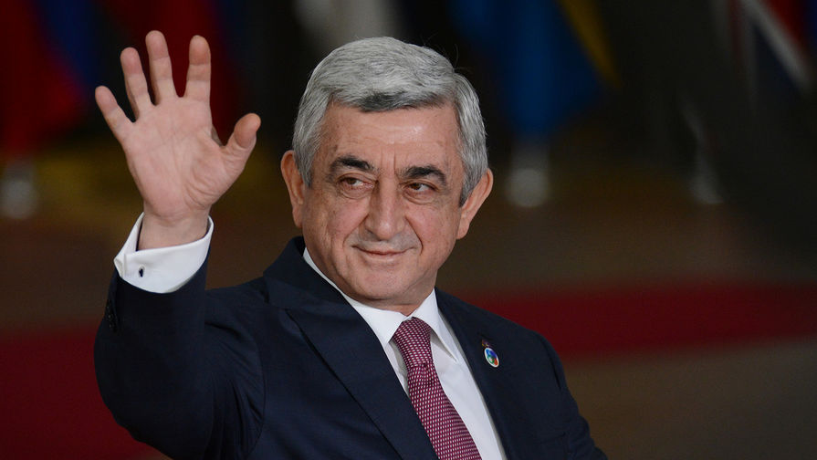 Серж Саргсян внезапно прервал встречу с лидером оппозиции