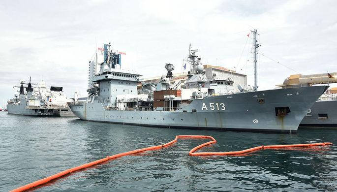 Боевая готовность: Черноморский флот следит за учениями НАТО