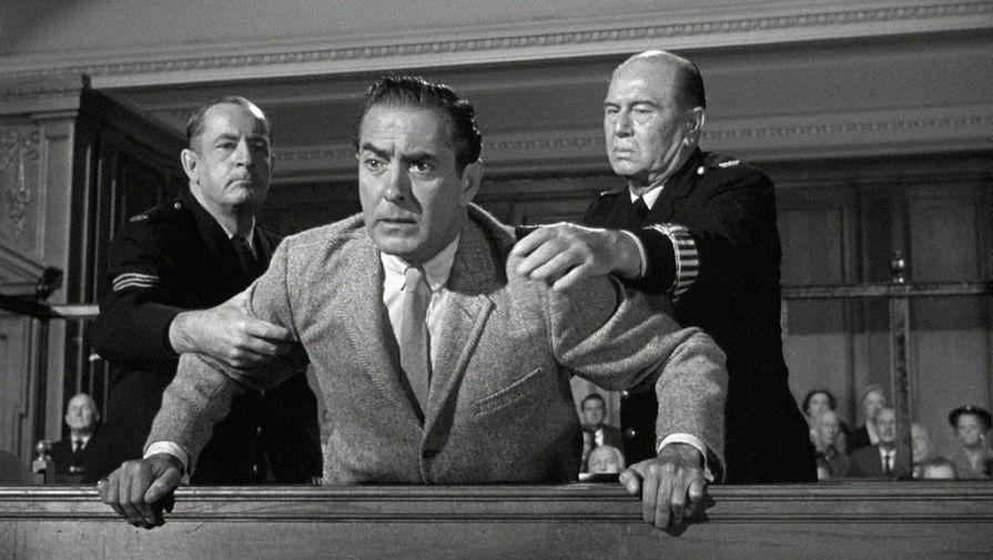 Кадр из фильма «Свидетель обвинения» (1957)