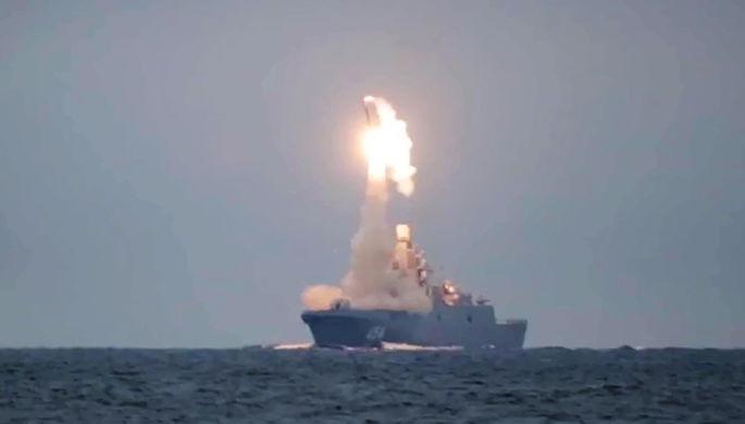 Первый запуск гиперзвуковой ракеты «Циркон» с фрегата «Адмирал Горшков»
