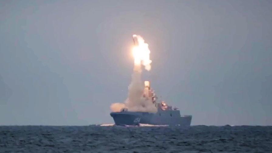 """Путину доложили об успешном испытании гиперзвуковой ракеты """"Циркон"""""""