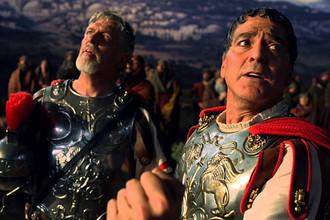 Кадр из фильма «Да здравствует Цезарь!»