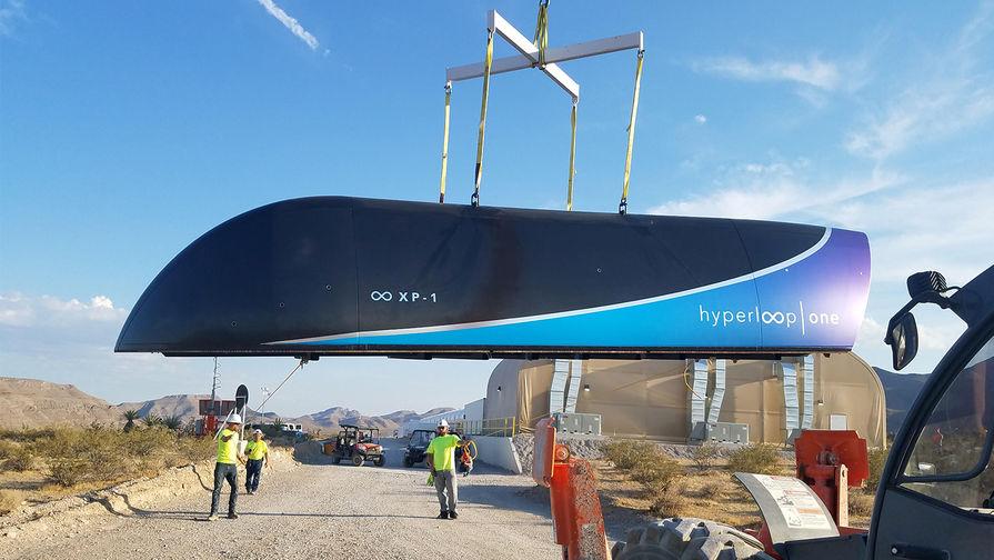 Индия отказалась от Hyperloop Маска
