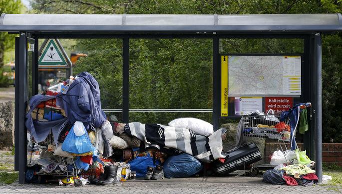 Четверть за гранью: Европу наводнили бедняки