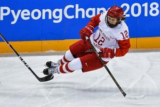 Хоккеистка Екатерина Лобова