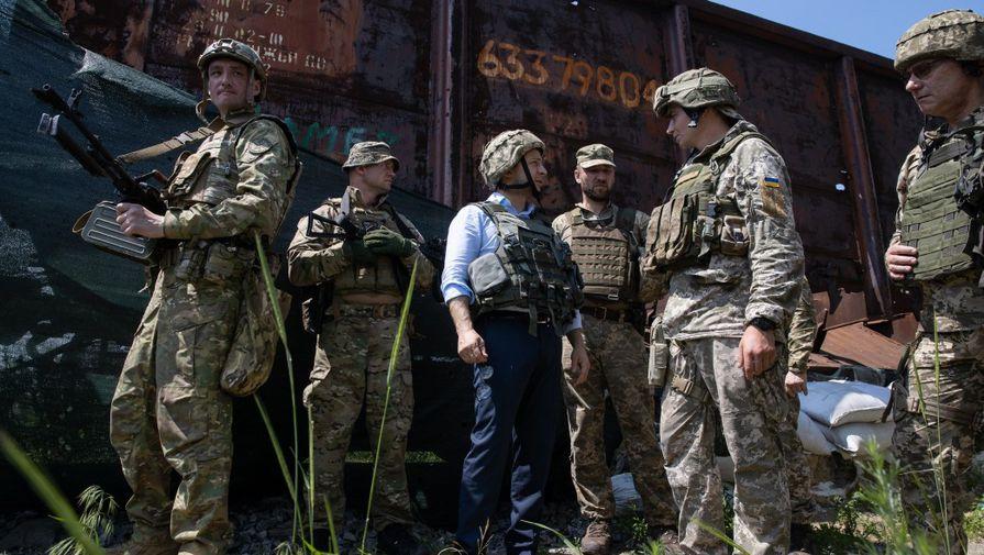 Донбасский вояж: Зеленский прибыл на передовую