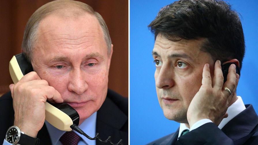 В Германии отреагировали на первый разговор Путина и Зеленского